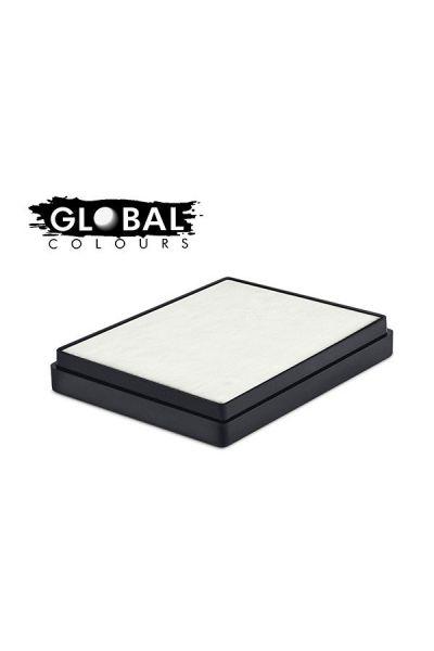 Global Aqua Schmink White Square Container