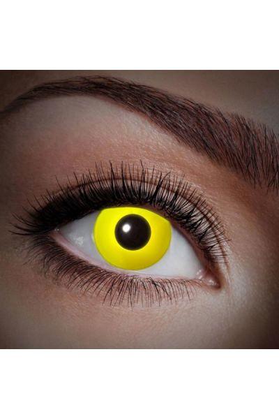 Fun Lenses Uv Flash Yellow