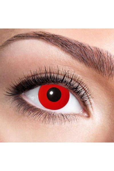 Fun Lenses Uv Flash Red