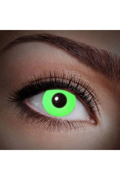 Fun Lenses Uv Flash Green