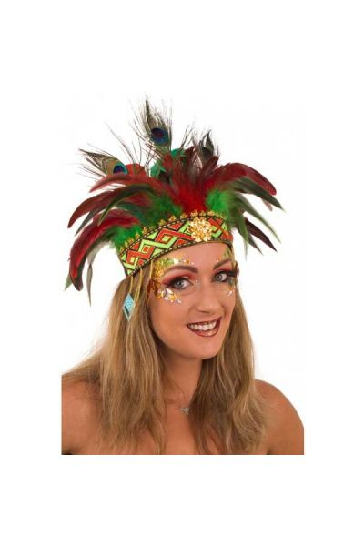 Feather Headband Comanche