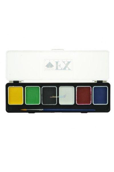 Diamond Fx 6 Kleuren Schmink Palette