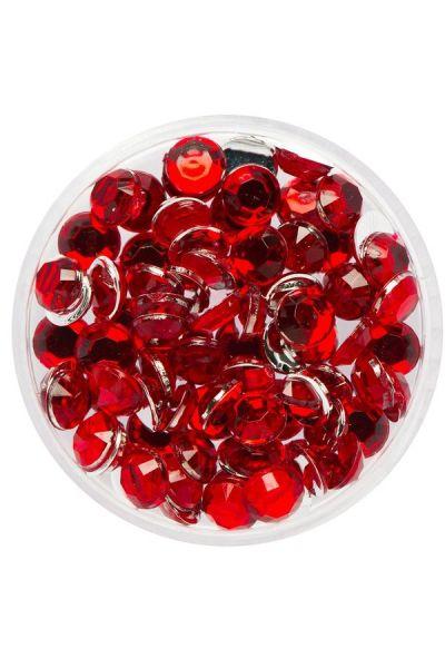 Eulenspiegel Glittersteentjes Rubin