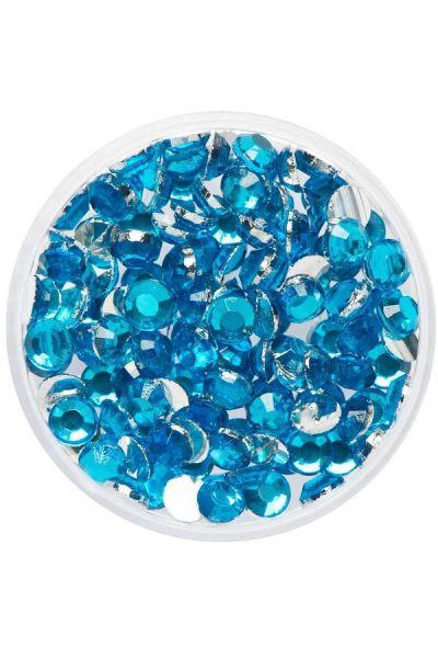 Eulenspiegel Glittersteentjes Aquamarine