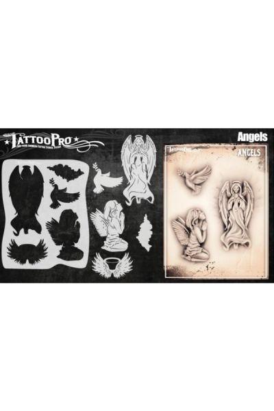 Wiser Airbrush Tattoo Angels