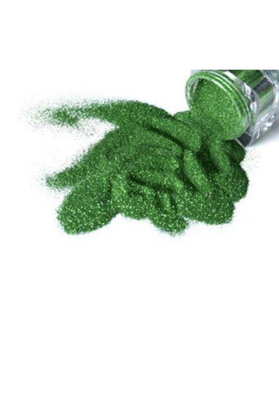 Glimmer Cosmetic Glitter Jar Emerald