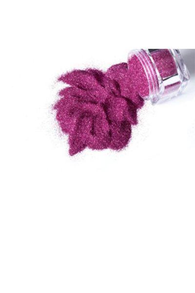 Glimmer Cosmetic Glitter Jar Hot Pink