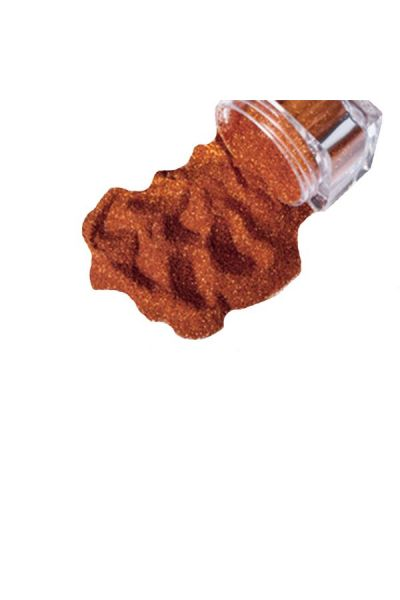 Glimmer Cosmetic Glitter Jar Fire Orange