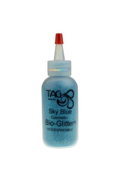 Tag Body Art Bio Glitter Sky Blauw 60ml