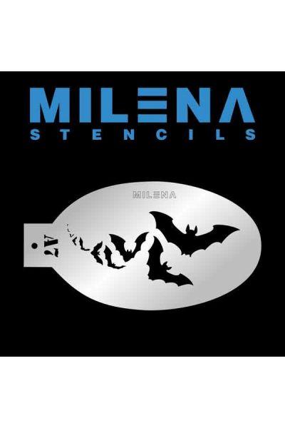 Milena Stencil Vleermuis A7