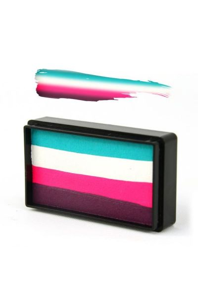 Arty Brush Aqua Cake