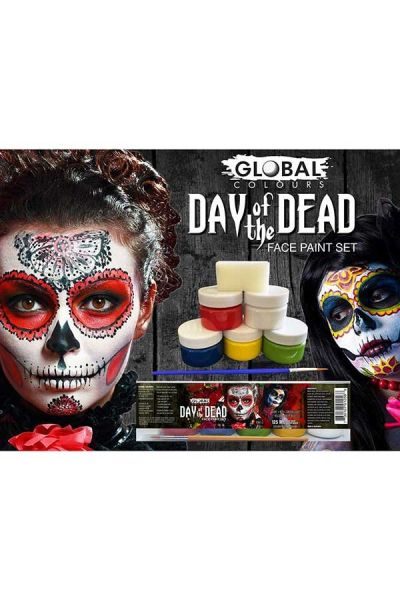 Day Of The Dead Facepaint Set
