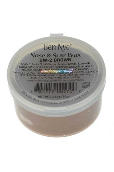 Ben Nye Nose & Scar Wax Brown 70gr