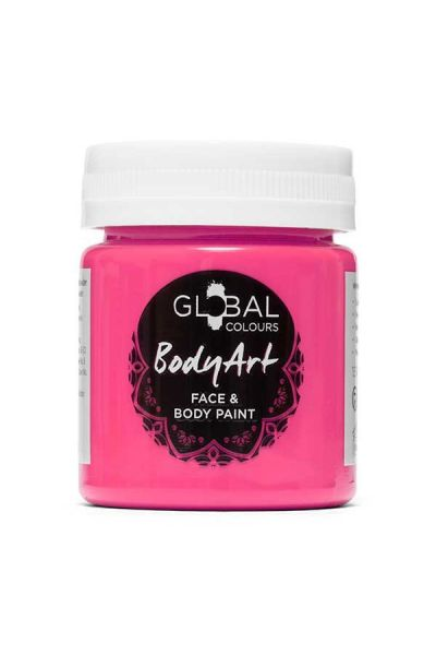 Glow In The Dark Vloeibare Schmink Roze 45ml