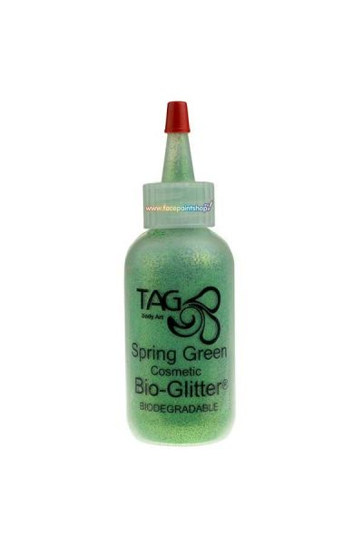 Tag Body Art Bio Glitter Spring Groen 60ml