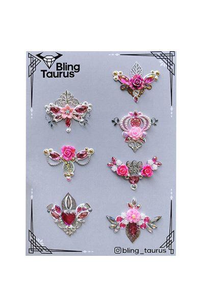Bling _Taurus Handmade Bling Clusters Design 1