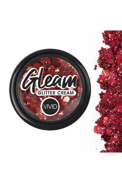 Vivid Chunky Glitter Cream Cardinal 7,5gr