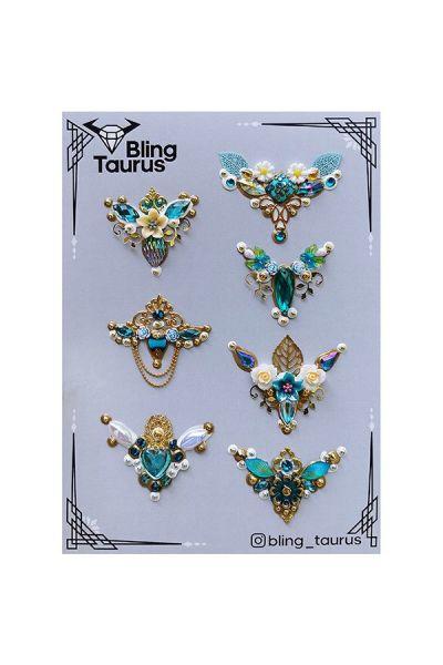 Bling _Taurus Handmade Bling Clusters Design 2