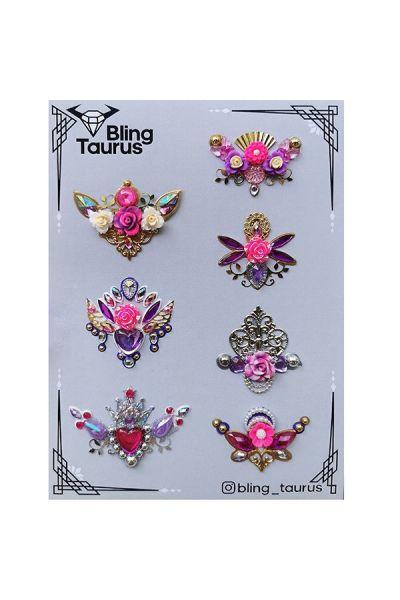 Bling _Taurus Handmade Bling Clusters Design 3
