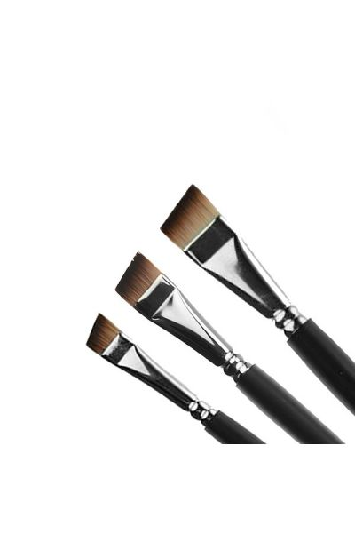 Facepaintshop Angular Brush Set 3pc