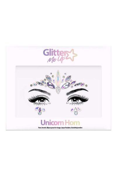 Face Jewels Unicorn Horn