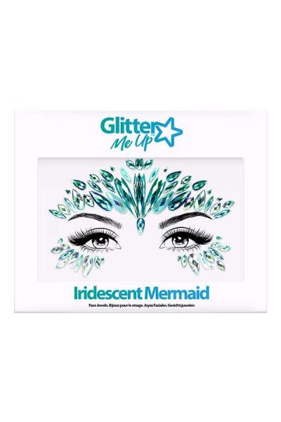 Face Jewels Iridescent Mermaid