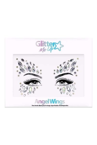 Face Jewels Angel Wings