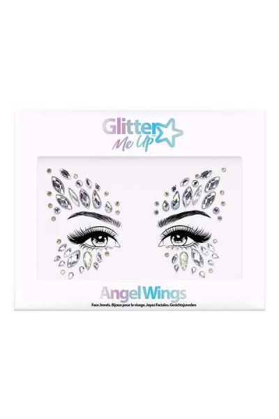 Face Jewels Angel Wings