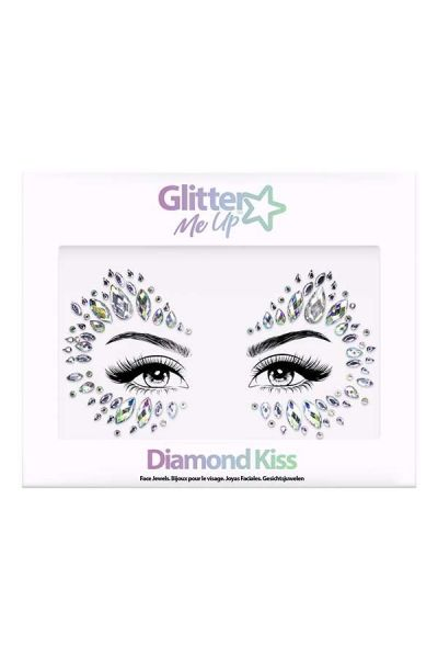 Face Jewels Diamond Kiss