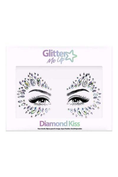 Face Jewels Diamond Kiss