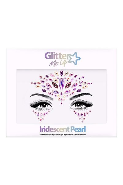 Face Jewels Iridescent Pearl