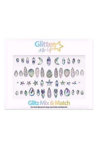 Face Jewels Glitz Mix & Match