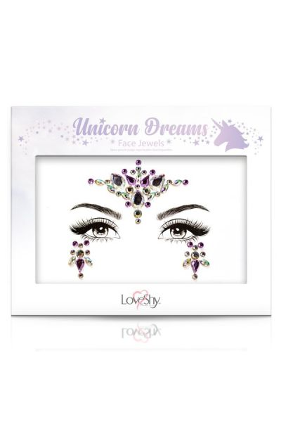 Face Jewels Unicorn Dreams