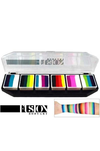 Fusion Body Art Rainbow Burst Palette