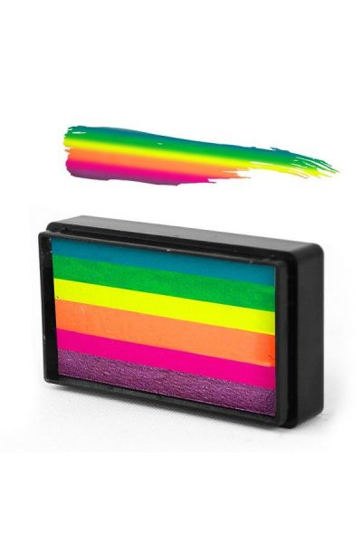 Arty Brush Summer Sorbet Rainbow Cake