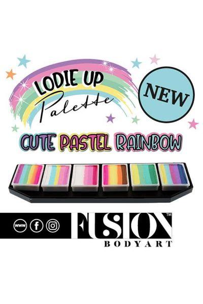 Fusion Lodie Up Cute Pastel Rainbow Palette
