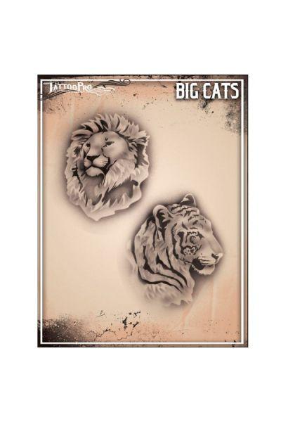 Wiser Airbrush Tattoo Big Cats
