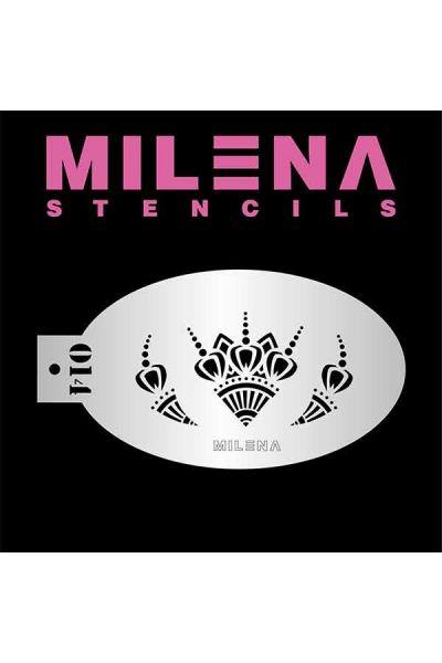 Milena Stencil Accents 014