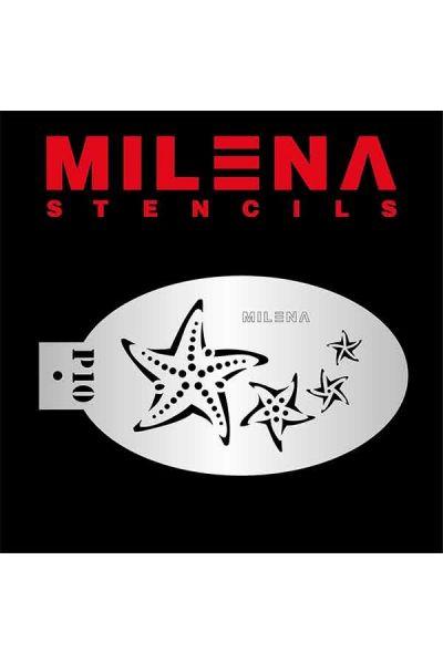 Milena Stencil Starfish P10