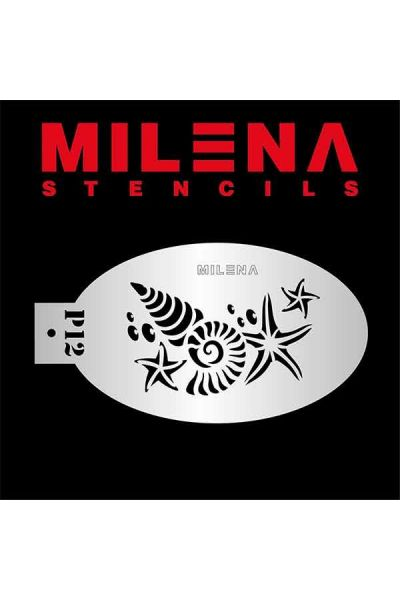 Milena Stencil Seashells P12