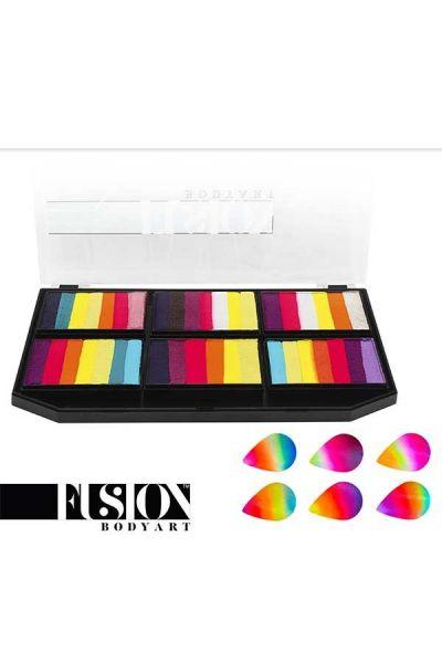 Fusion Leanne's Vivid Rainbow Petal Palette