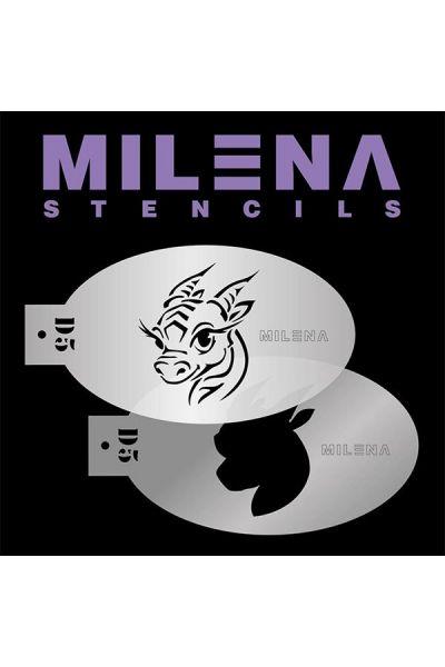 Milena Double Stencil D5