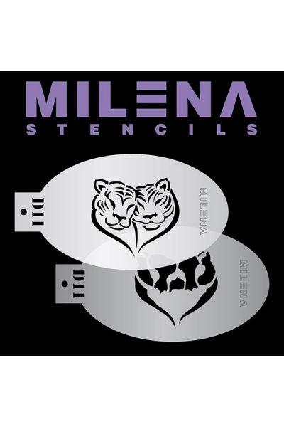 Milena Double Stencil D11