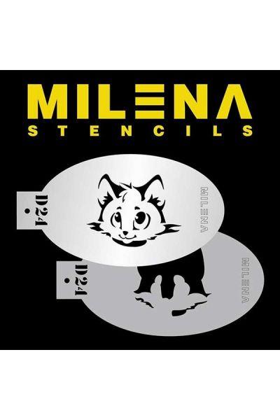 Milena Double Stencil D24