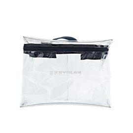 Kryolan Box Bag Large  De Kryolan Box Bags zijn stevige afsluitbare tasjes van flexibel PVC. Ze kunnen eenvoudig gereinigd worden.