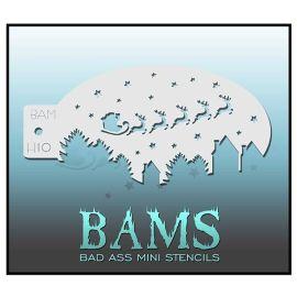 Bad Ass Bams Schmink Sjabloon H09