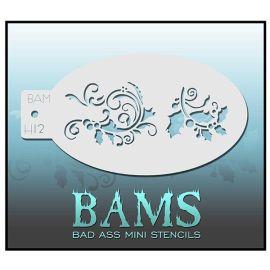 Bad Ass Bams Schmink Sjabloon H02