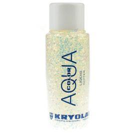 Kryolan Liquid Aquacolor Glitter Pearl White