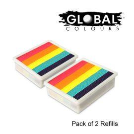 Global Funstrokes Refill Leanne's Rainbow
