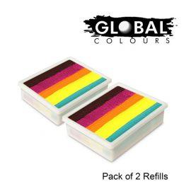 Global Funstrokes Refill Neon Nirvana
